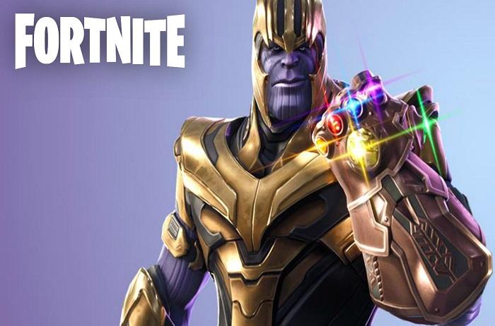 Thanos em Fortnite Novamente