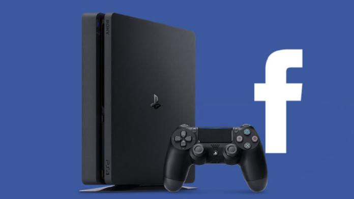 Integração entre PS4 e Facebook