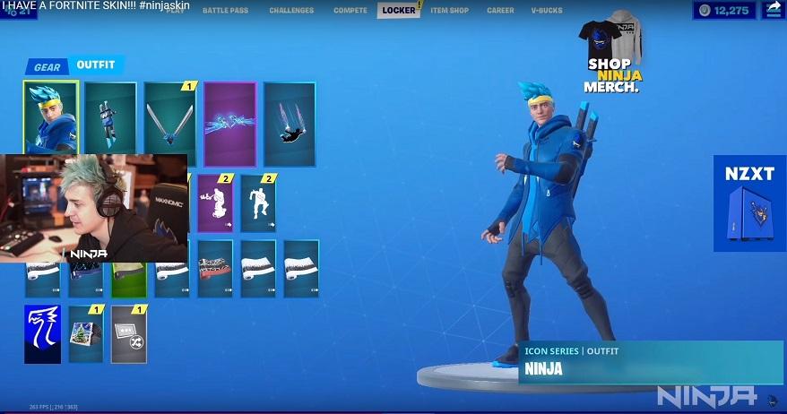 skin ninja fortnite