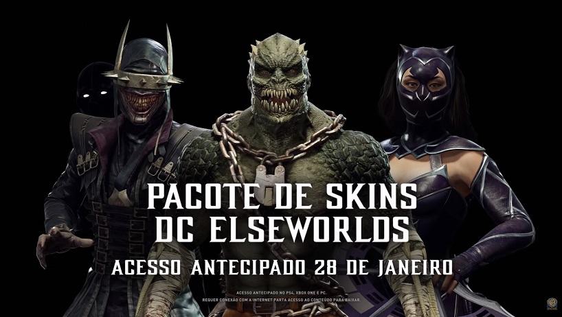 skins icônicas da DC