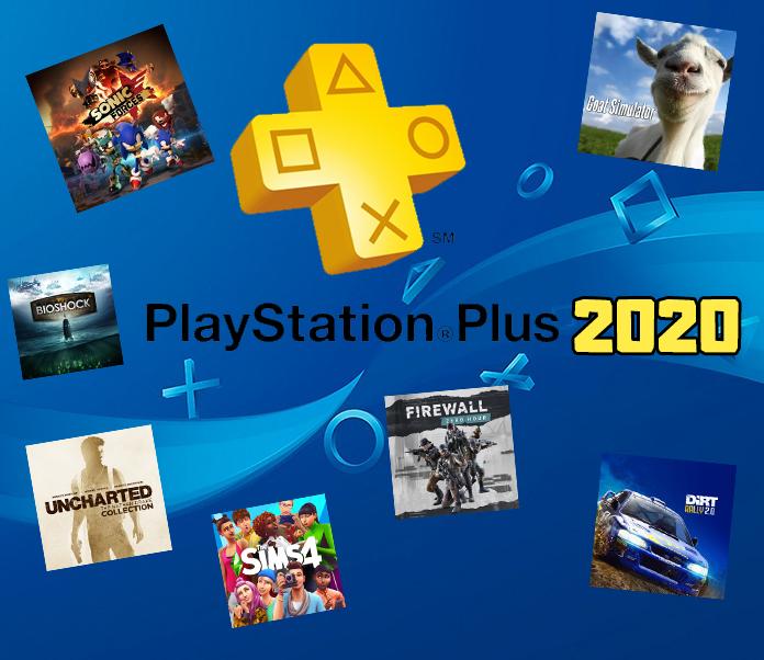 Todos os jogos da PS Plus 2020