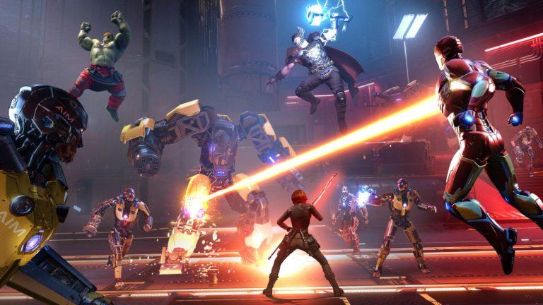 Nova arte de Marvel's Avengers apresenta novo inimigo AIM