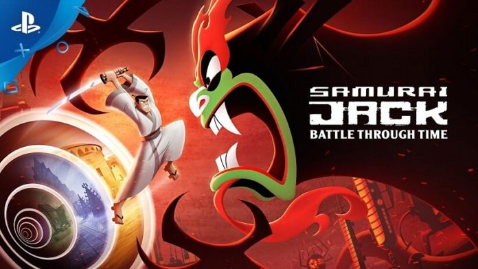 Samurai Jack Battle Through Time ps4
