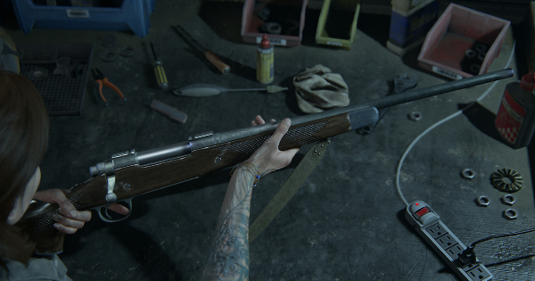The Last of Us Part 2 armas