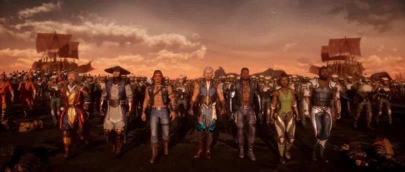 todos os personagens Mortal Kombat 11 Aftermath