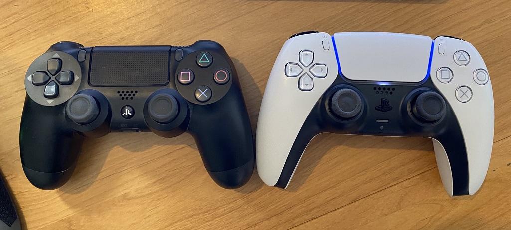 DualShock 4 vs DualSense