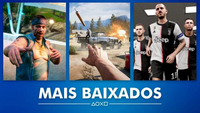 Esses sãos os jogos mais vendido na PlayStation Store brasileira no me de julho