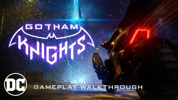 Gotham Knights gameplay