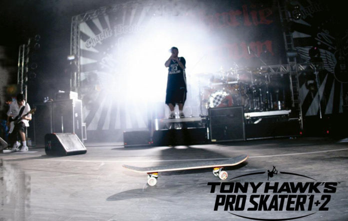 Charlie Brown Jr. Presente em Tony Hawk's Pro Skater