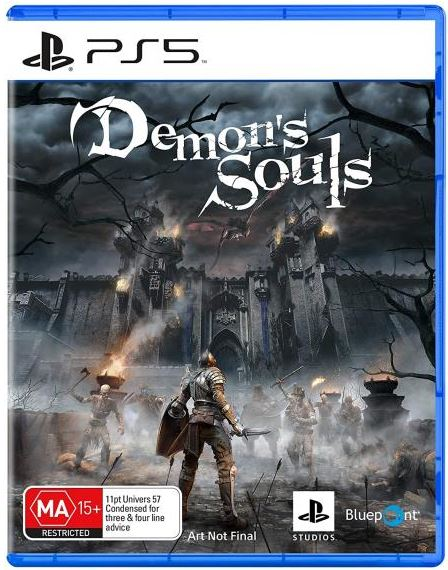 capa ps5 demons-souls-remake