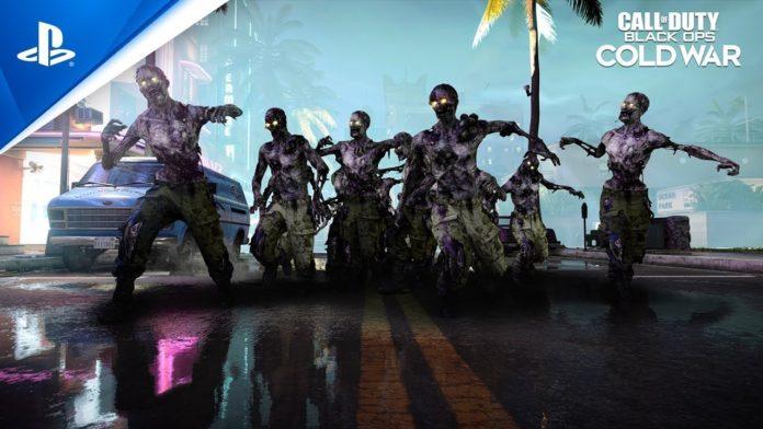 Call of Duty Black Ops Cold War modo Aniquilação de Zumbis