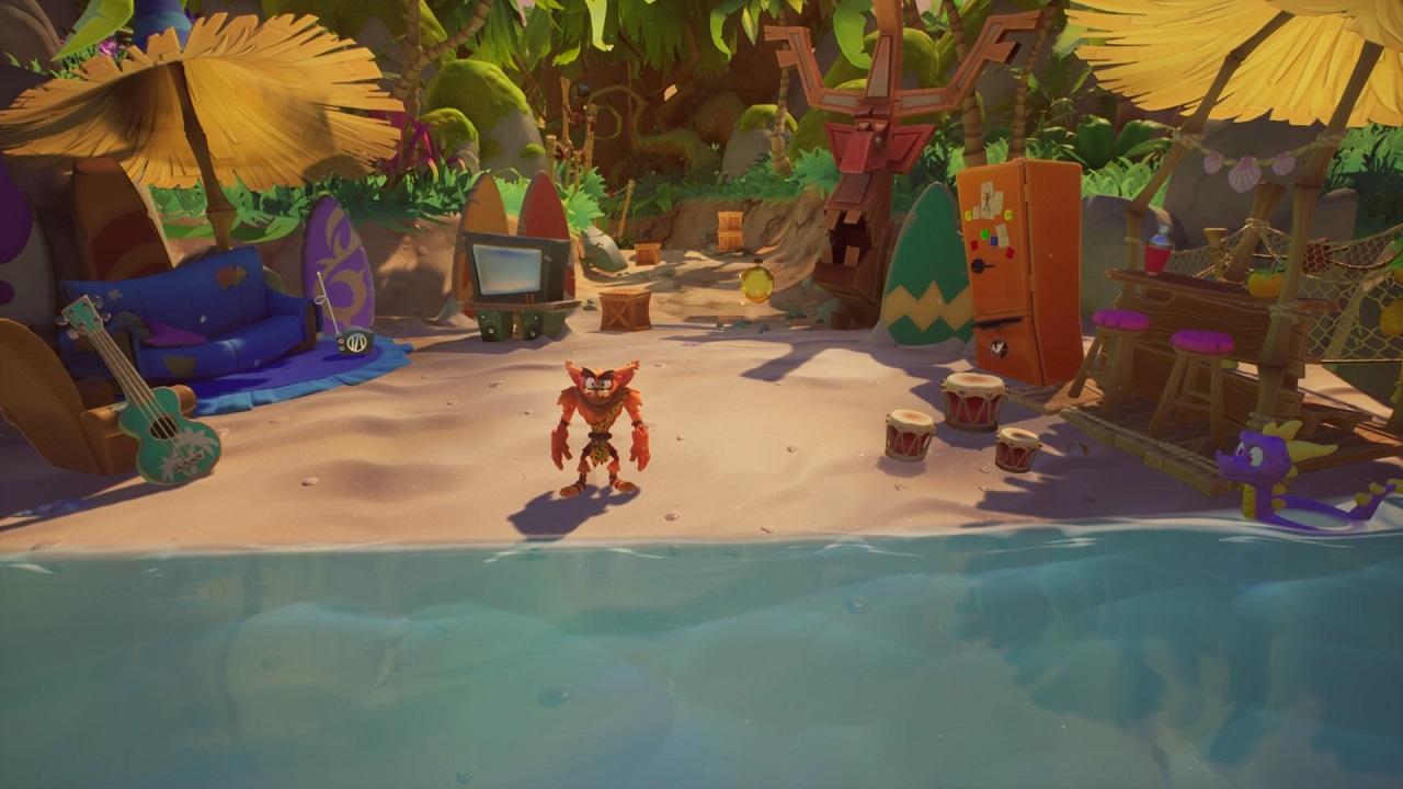 Crash Bandicoot 4: versões de crash