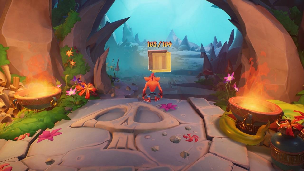 Crash Bandicoot 4 todas as caixas