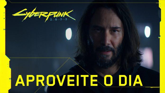 Cyberpunk 2077 trailer com Keanu Reeves