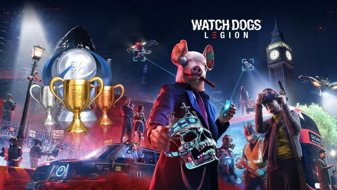 Todos os troféus de Watch Dogs Legion