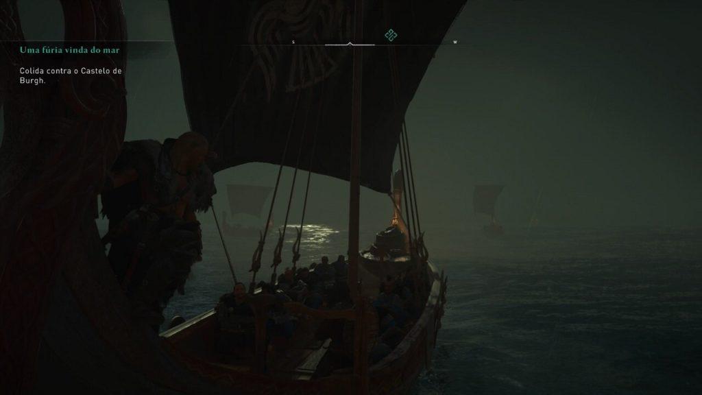No drakkar Assassin's Creed Valhalla