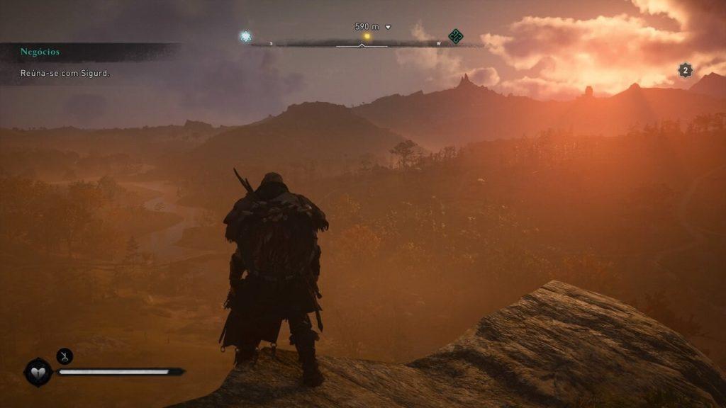 Paisagem Assassin's Creed Valhalla