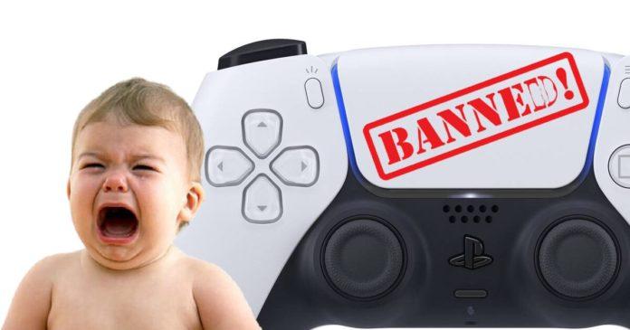 usuário brasileiro é banido permanentemente do serviço da PlayStation Network