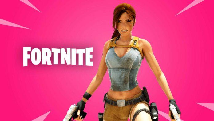 Lara Croft pode fazer parte do próximo crossover de Fortnite
