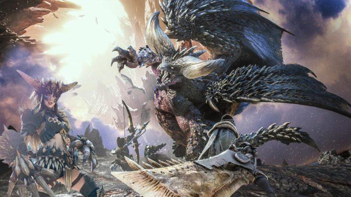 cosplay dragão Nergigante de Monster Hunter World