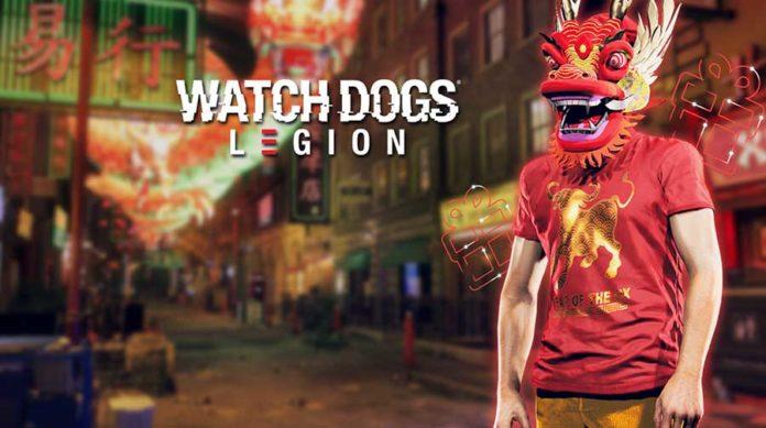 Watch Dogs Legion comemora o ano novo lunar com recompensas gratuitas