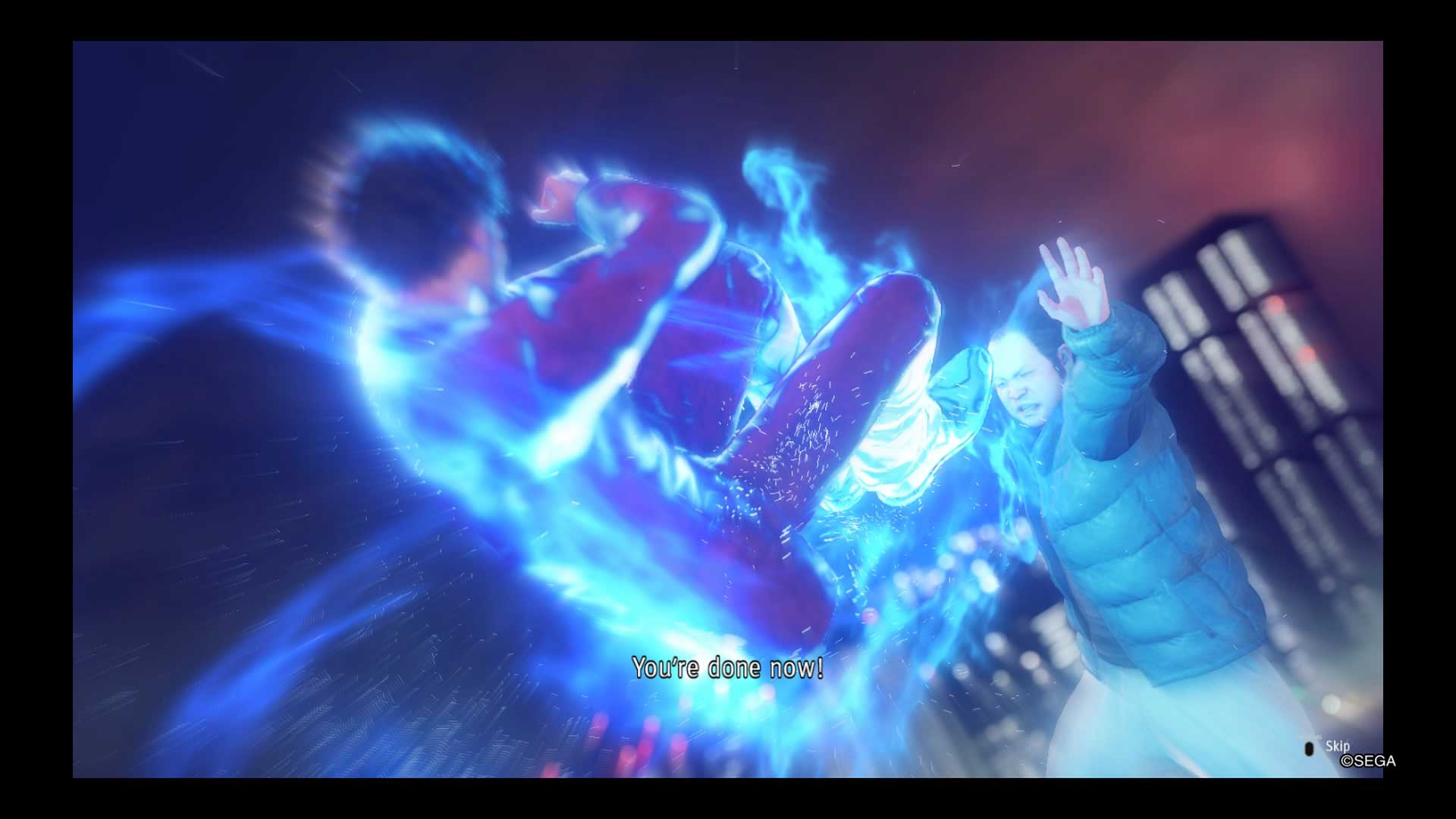 Yakuza Like a Dragon Animação-de-habilidade