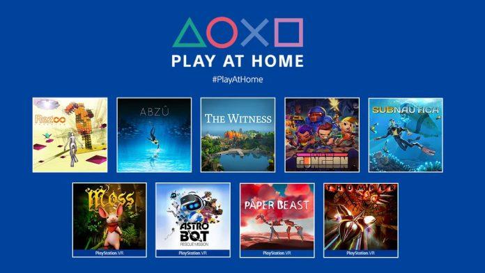Play at Home horizon zero dawn