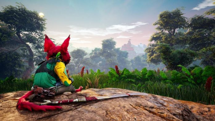 biomutant gameplay